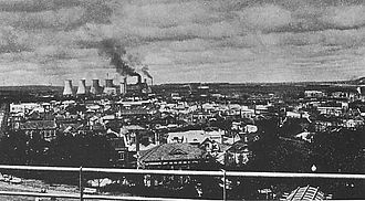View of Fushun circa 1940.JPG