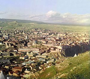 Old Tbilisi - View of Old Tbilisi in the early 1900s