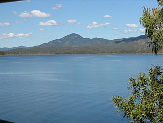 Calliope, Queensland - View of Lake Awoonga
