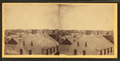 View of a group of homes, from Robert N. Dennis collection of stereoscopic views.png