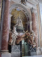 View of the Tomb of Alexander VII, St Peter's, Vatican City.jpg