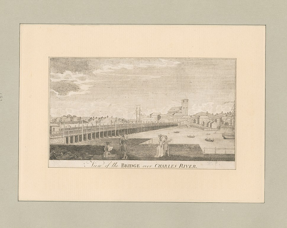 View of the bridge over Charles River (NYPL b13049824-424747)