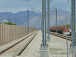 View west southwest from 4800 W Old Bingham Hwy station, Apr 16.jpg