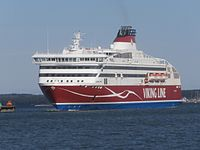 Viking XPRS arriving Tallinn 17 March 2014.JPG
