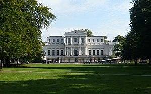 Villa Welgelegen - Front of Villa Welgelegen on the Paviljoenslaan, Haarlem