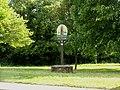 Village sign at Acton, Suffolk - geograph.org.uk - 182360.jpg