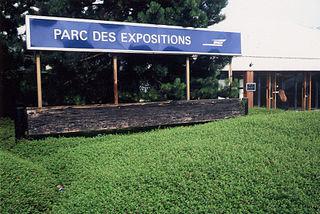 railway station in Villepinte, France