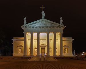 Vilnius Cathedral - Cathedral of Vilnius.