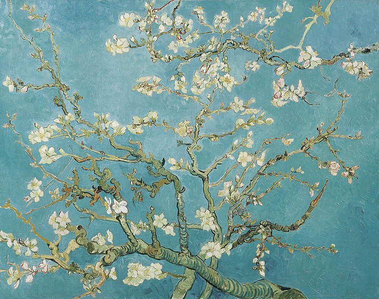File:Vincent van Gogh - Branches of an Almond Tree in Blossom (F671).jpg