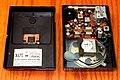 Vintage Motorola Transistor Radio (Chassis View), Model X47E, AM Band, 7 Transistors, Made In USA, Circa 1963 (48957026773).jpg