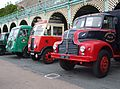 Vintage trucks, 2009 HCVS London to Brighton run.jpg
