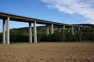Vinxtbachtalbrücke der BAB 61 bei Waldorf