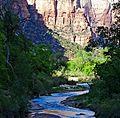 Virgin River Shadows, Zion NP 5-14 (23443337264).jpg