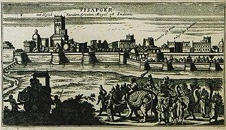 "Bijapur - ""Visapoer"", 1690"