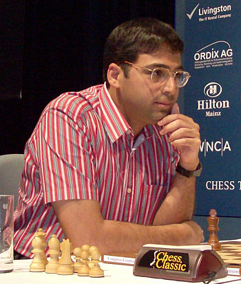 English: Viswanathan Anand, world chess champion