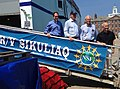 Visitors from Capitol Hill, the research community and NSF check out R-V Sikuliaq during the ship's visit to Woods Hole (14804805149).jpg
