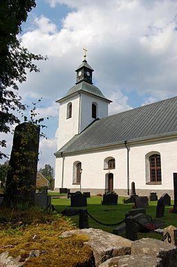 Vislanda kirke i 1936