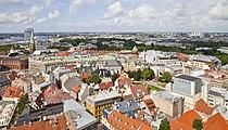 Vistas desde la iglesia de San Pedro, Riga, Letonia, 2012-08-07, DD 05.JPG