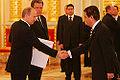 Vladimir Putin with Mohammed Saleh Ahmed al-Hilali.jpg