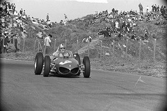 Wolfgang von Trips - von Trips at the 1961 Dutch Grand Prix.