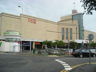 Valley Park Retail Area - The Vue cinema inside the Leisure Park