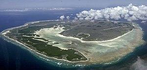 Europa Island - Image: Vue aerienne europa