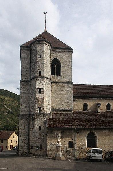 Église de Vuillafans (Doubs)