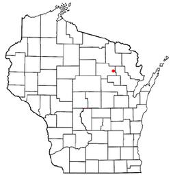 Vị trí trong Quận Langlade, Wisconsin