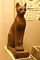 WLA brooklynmuseum Figure of a Cat with scarab on head.jpg