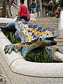 WLM14ES - Barcelona Salamandra y escalera 405 23 de julio de 2011 - .jpg