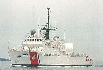 United States Coast Guard Cutter - USCGC Harriet Lane, a Medium Endurance Cutter (WMEC)