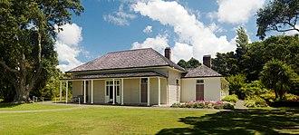 Waitangi, Northland - James Busby's house at Waitangi