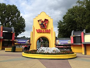 Walibi Holland - The entrance to Walibi Holland
