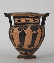 Walters Painter - Red-Figure Column Krater - Walters 4870 - Side A.jpg