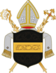 Coat of arms of the diocese of Prague