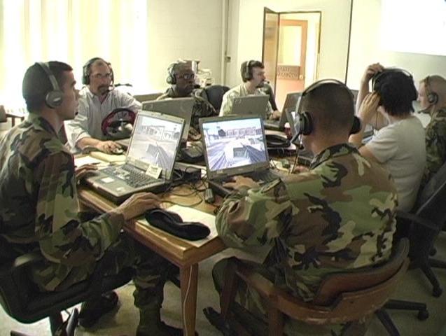 File:Warfighters in a DARPA Training Superiority program classroom.tiff