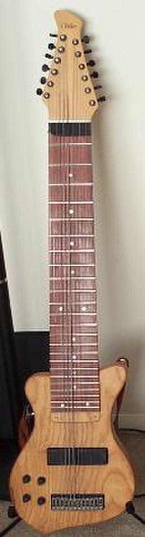 Experimental luthier - Image: Warr Guitar Raptor