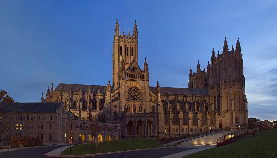 Washington National Cathedral Twilight-1