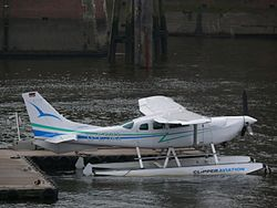Cessna 206 der Clipper Aviation