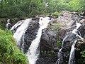 Waterfalls at Cwm Camlan near Llanfachreth - geograph.org.uk - 122141.jpg