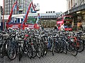 Waterloo Station, lots of bicycles - geograph.org.uk - 1046445.jpg