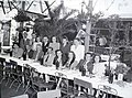 Wedding party 1947, Hungary Fortepan 105121.jpg