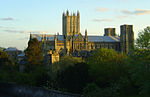 Wells Cathedral from the north crop.JPG