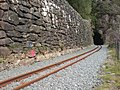 Welsh Highland Railway at Aberglaslyn - geograph.org.uk - 1263168.jpg