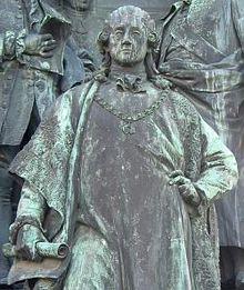 Darstellung von Kaunitz am Maria-Theresien-Denkmal in Wien (Quelle: Wikimedia)
