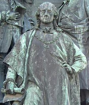 Wenzel Anton, Prince of Kaunitz-Rietberg - Prince Kaunitz-Rietberg (part of the Maria Theresa monument in Vienna)