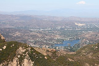 Conejo Valley region in Southern California, United States
