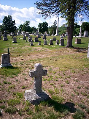 Goffstown, New Hampshire - Westlawn Cemetery in Goffstown