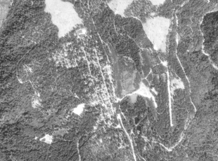 USGS satellite photo of Stirling City