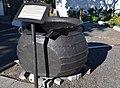 Whaling Trypot (Blubber Pot), Simon's Town SA.jpg